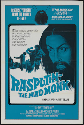 Rasputin: The Mad Monk (1966, UK) movie poster