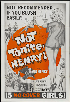 Not Tonight Henry (aka Not Tonite, Henry!) (1960, USA) movie poster