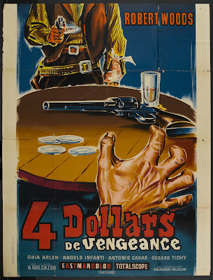 Four Dollars for Vengeance (4 dollari di vendetta) (1966, Italy / Spain) movie poster