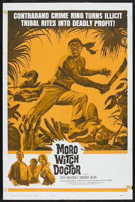 Moro Witch Doctor (1964, USA / Philippines) movie poster