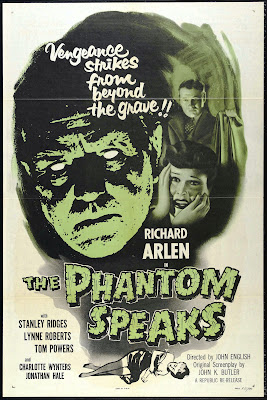The Phantom Speaks (1945, USA) movie poster