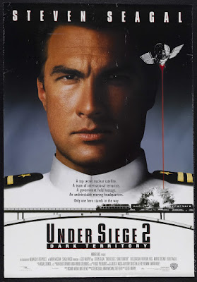 Under Siege 2: Dark Territory (1995, USA) movie poster