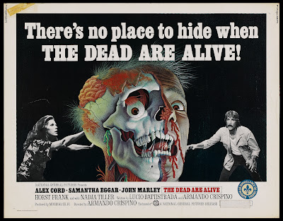 The Dead Are Alive (L'Etrusco uccide ancora / The Etruscan Kills Again) (1972, Italy / Germany) movie poster