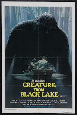 Creature from Black Lake (1976, USA) movie poster