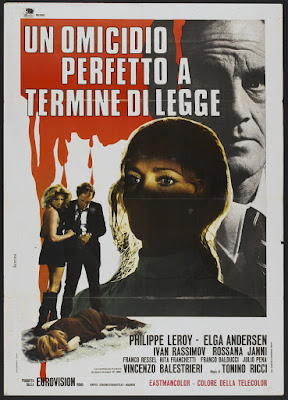 Cross Current (Un omicidio perfetto a termine di legge / A Perfect Murder in Terms of Law) (1971, Italy / Spain) movie poster