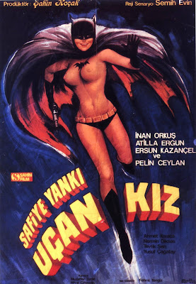 Batgirl (Uçan Kiz) (1972, Turkey) movie poster