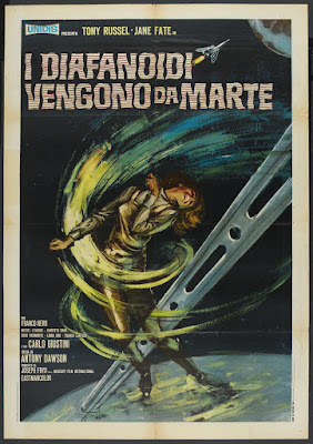 The War of the Planets (I diafanoidi vengono da Marte / Diaphanoids, Bringers of Death) (1966, Italy) movie poster