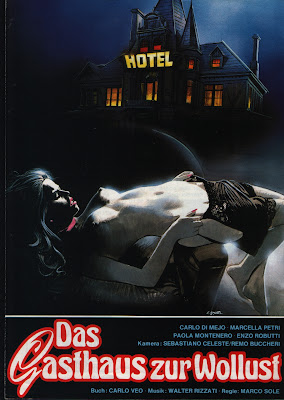 The Hotel of Evil Adolescence (La locanda della maladolescenza) (1980, Italy) movie poster