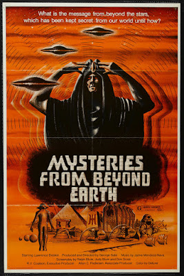 Mysteries from Beyond Earth (1975, USA) movie poster