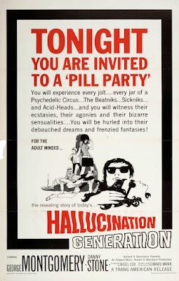 Hallucination Generation (1966, USA) movie poster