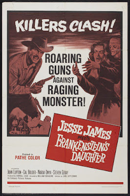 Jesse James Meets Frankenstein's Daughter (1966, USA) movie poster