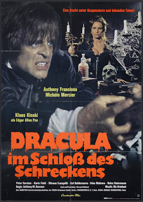 Dracula in the Castle of Blood (Nella stretta morsa del ragno / In the Grip of the Spider, aka Web of the Spider) (1971, France / Italy / Germany) movie poster