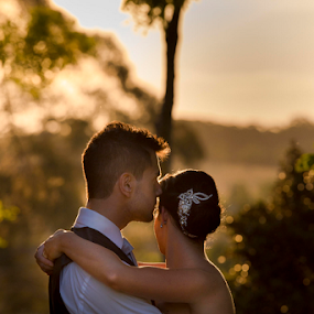 Hayley & Aaron by Adz King - Wedding Bride & Groom ( love, wedding, bride, groom, photography )