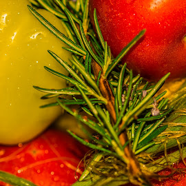 green red by Eseker RI - Food & Drink Plated Food (  )