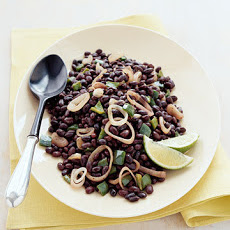 Black Beans with Poblano