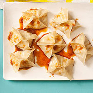 Asian Chicken Dumplings