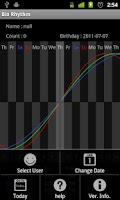 Screenshot of Bio Rhythm(Free)