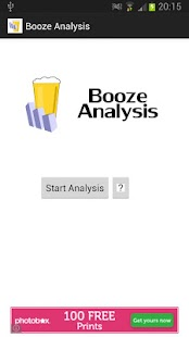 Booze Analysis - screenshot