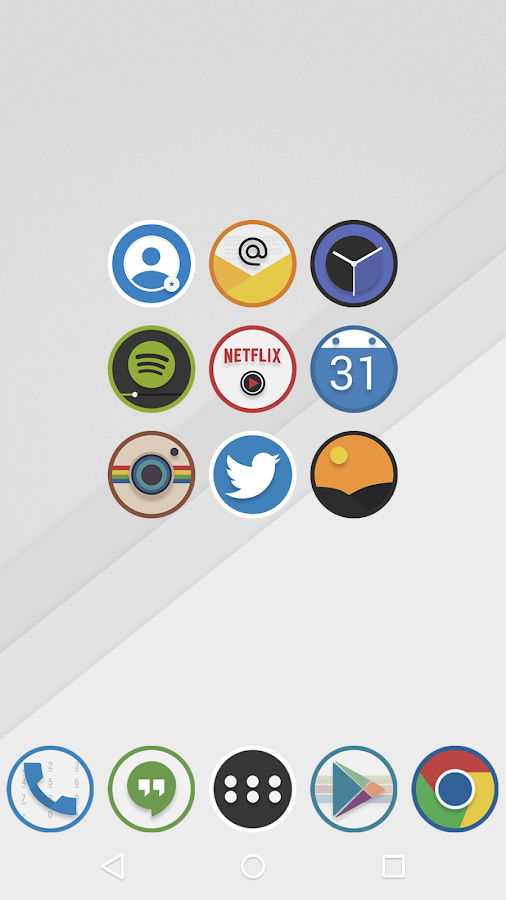Ovo Icon Pack Screenshot 3