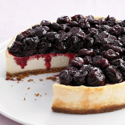 Light Cherry Cheesecake