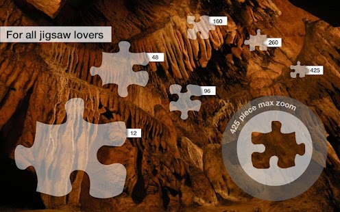 Jigsaw Puzzles: Caves - screenshot