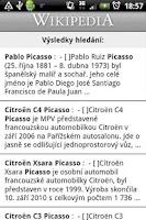 Screenshot of Wikipedia Czech O2