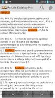 Screenshot of Polskie Kodeksy Pro