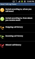 Screenshot of Smart Call-Log Viewer