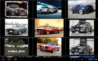 Screenshot of Shelby Mustang Wallpapers