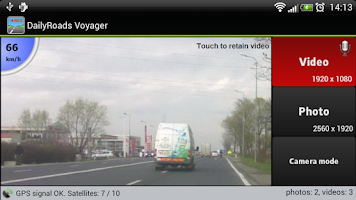 Screenshot of DailyRoads Voyager