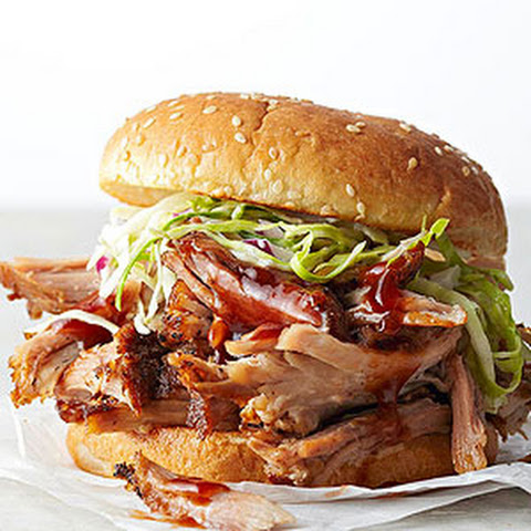 Shredded Pork Roast Sandwiches