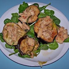 Scenter Steamed Eggplant  (Aubergine) With Chicken.