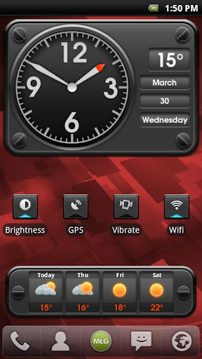 MLG Aviator Widget Theme
