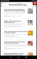 Screenshot of Renal & Urology News