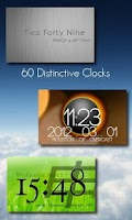 Screenshot of One More Clock Widget Free