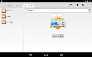 Screenshot of File Expert Pro Key Plugin
