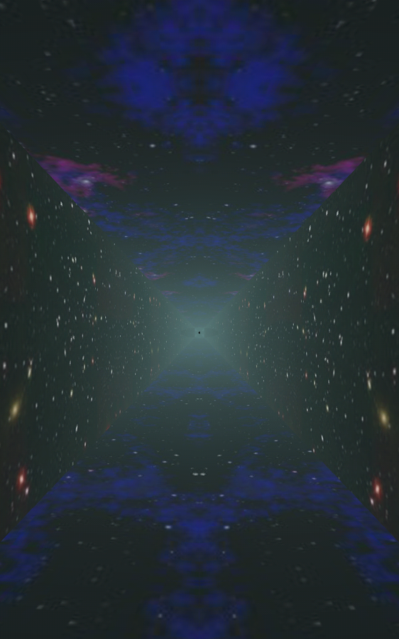 Runner in the UFO - Visualizer Screenshot 4