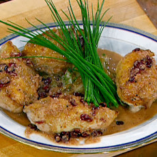 Pan Roasted Chicken with Cherry Beer Sauce