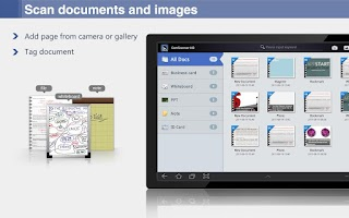 Screenshot of CamScanner HD (License)