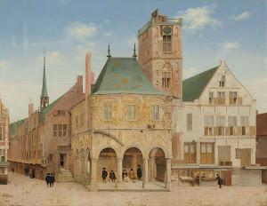RIJKS: Pieter Jansz. Saenredam: The Old Town Hall of Amsterdam 1657