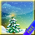 Winter Snowfall Wallpaper FRE icon