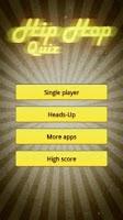 Screenshot of Hip hop quiz