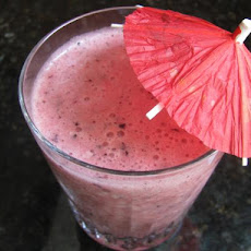 Cantaloupe, Berry and Pineapple Smoothie