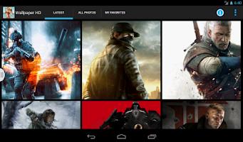 Screenshot of Best Gaming Wallpaper HD
