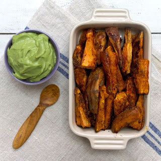 Cinnamon and Paprika Sweet Potato Wedges