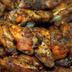 Lemon Pepper Hot Wings