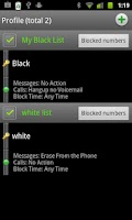 Screenshot of Extreme Call Blocker