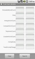 Screenshot of PubChem Mobile