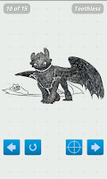 Screenshot of How to Draw Train Your Dragon