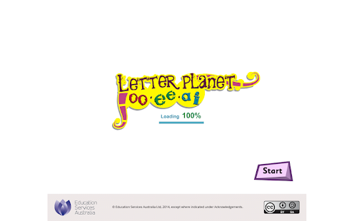 Letter planet: oo, ee, ai - screenshot